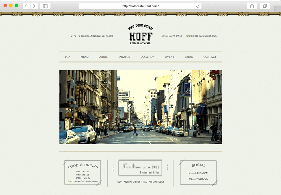 NEW YORK STYLE HOFF RESTAURANT & BAR HP